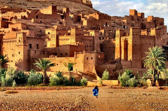 Kasbah Ait Ben Hadou. Stop during tour to Merzouga Dsert