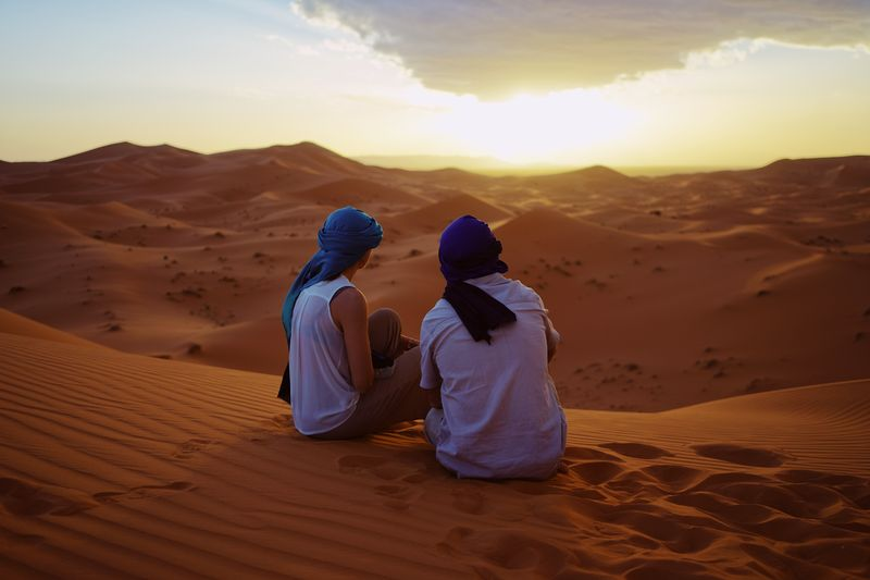 Sahara desert tour from marrakech 4 days