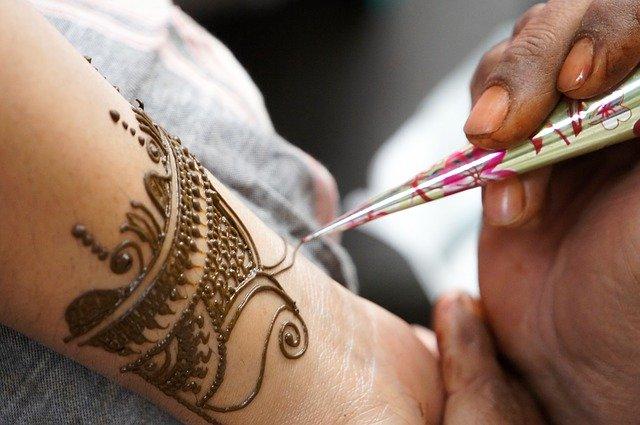 Henna design morocco