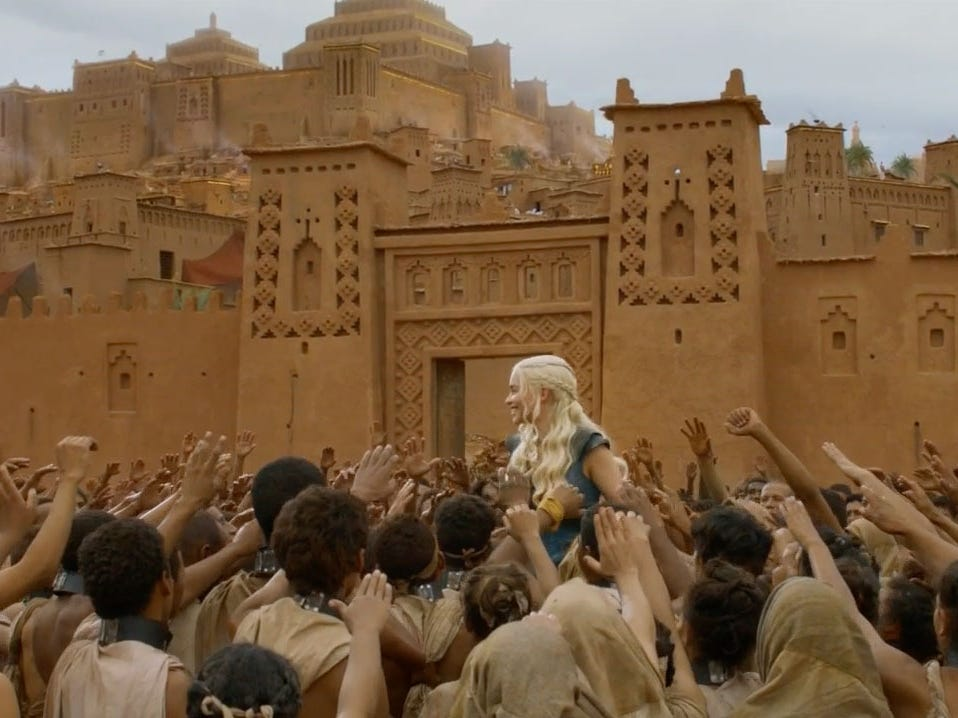 Ait ben haddou game of thrones
