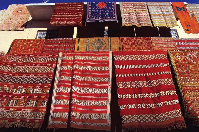 Berber rug Morocco