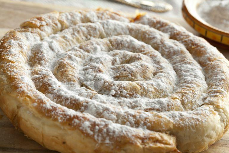 Moroccan dessert. Mhanncha