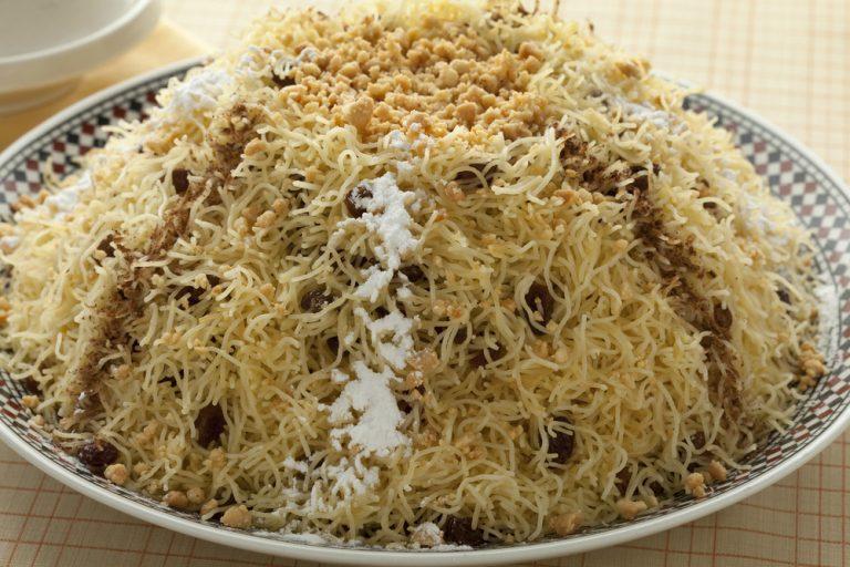 Seffa. Moroccan dessert