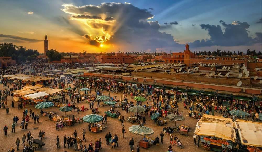 Jma el fna square Marrakech