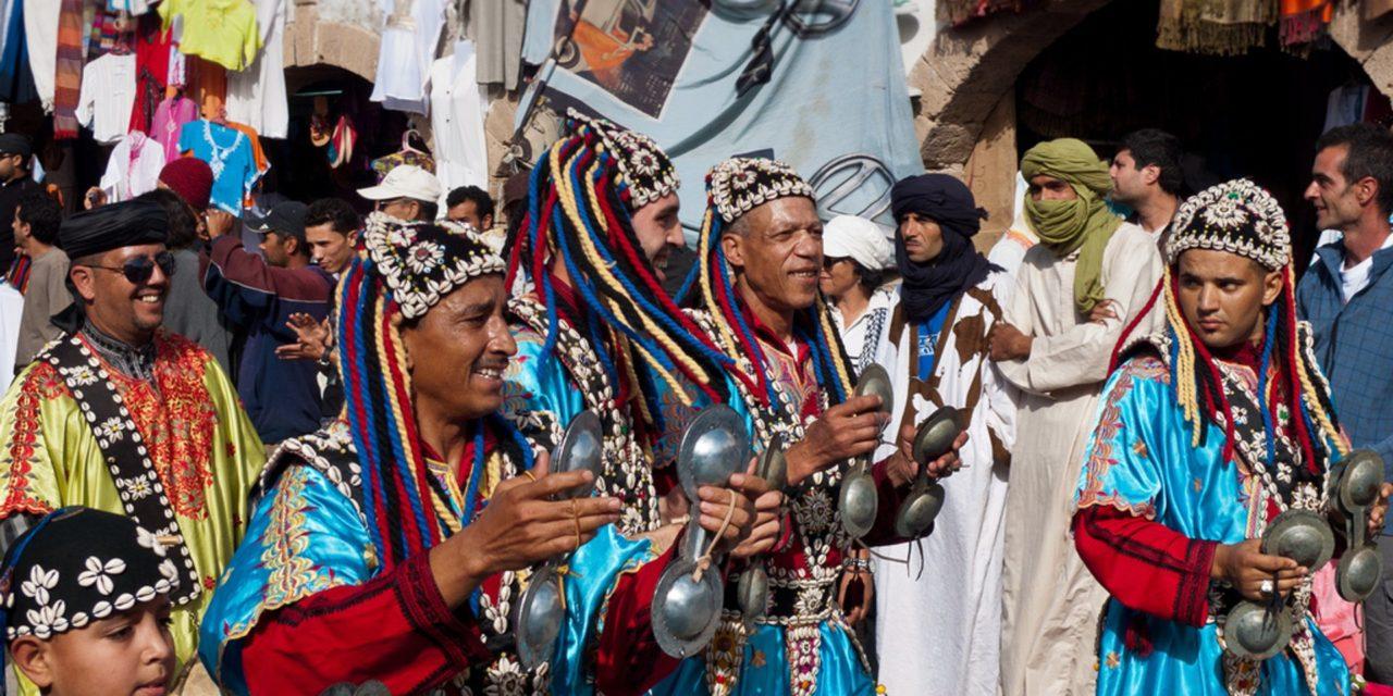 Morocco festival. Gnaoua
