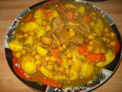 Moroccan lamb stew recipe peas