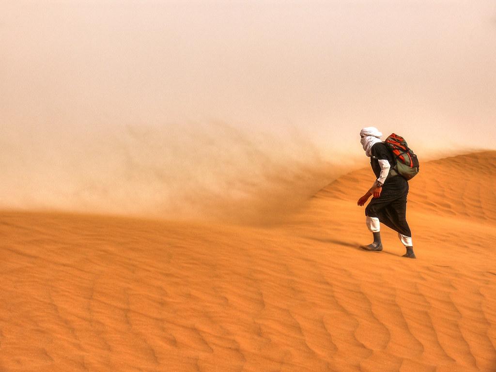 Sahara sand storm