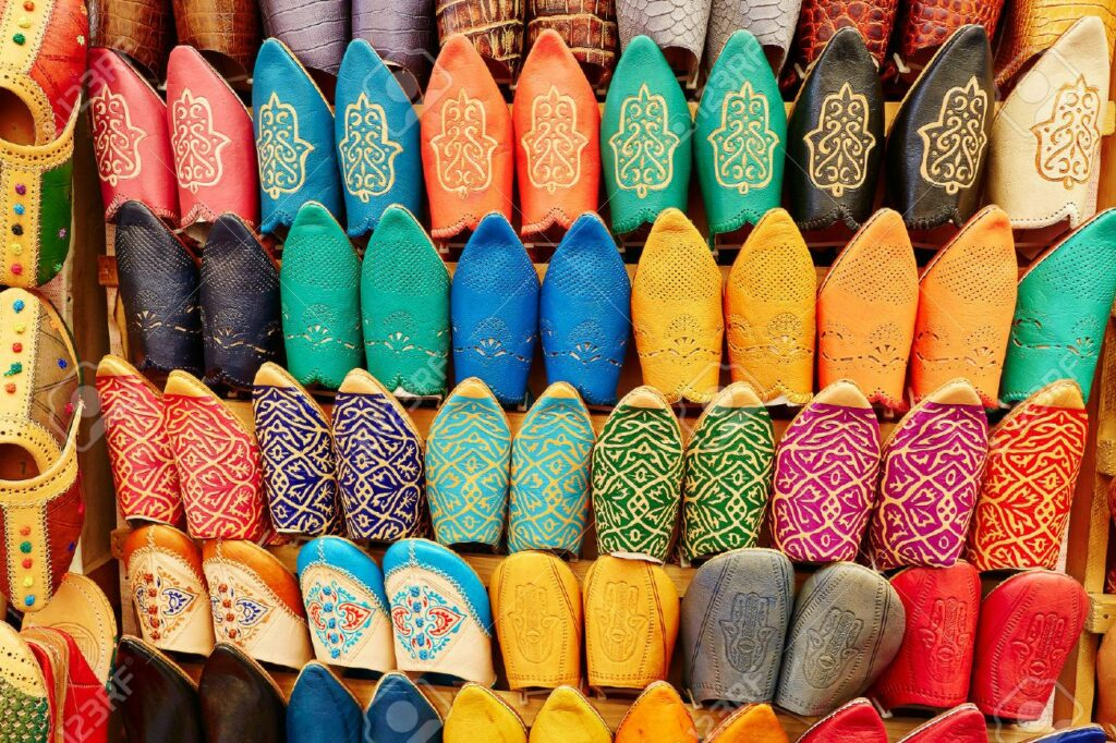 moroccan babouches slippers