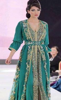 ▷ Moroccan Kaftan Dress Women